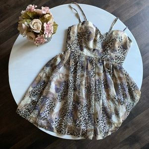 *NWOT*Walter by Walter baker animal print dress
